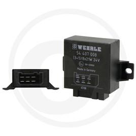Universal relé intermitencia 12v 8x 21w intermitentes 2+1+1 intermitentes relés - blinkgeber